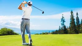 Cataract surgery helps golfer keep his eye on the ball