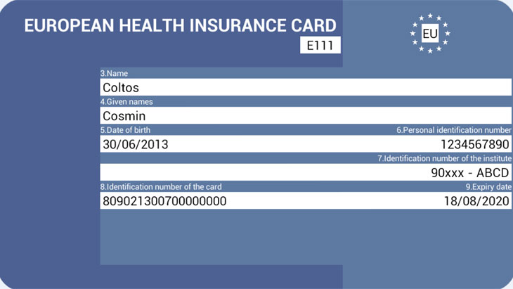 Travel insurance and EHIC cards
