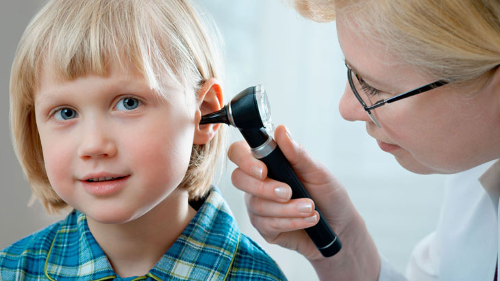 Treating ear infections in children