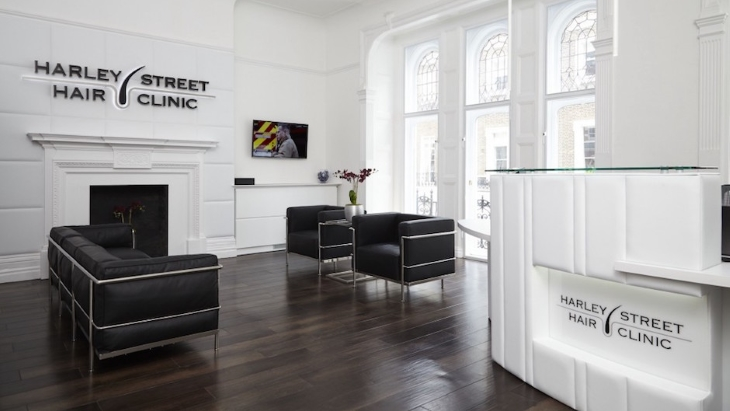The Harley Street Hair Clinic has moved