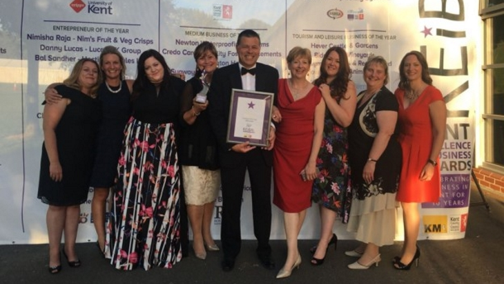 KIMS Hospital wins Employer of the Year at the Kent Excellence in Business Awards