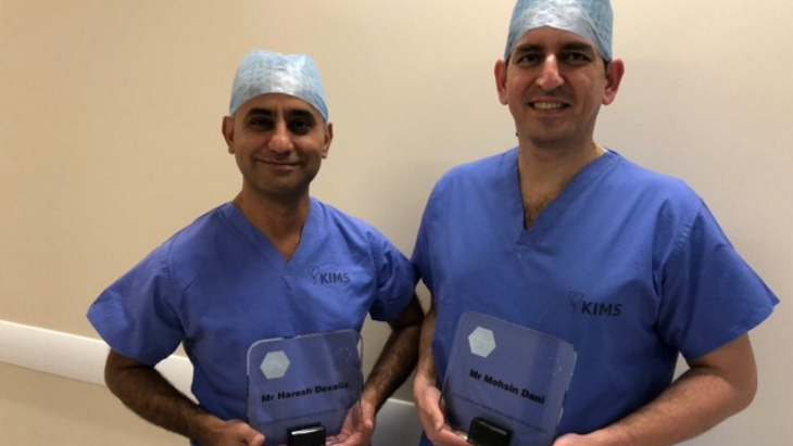 KIMS Hospital Consultant Breast Surgeons win top award