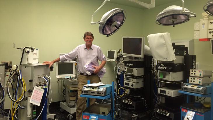 Spire St Anthony's donate laparoscopic surgical kit to Malawi