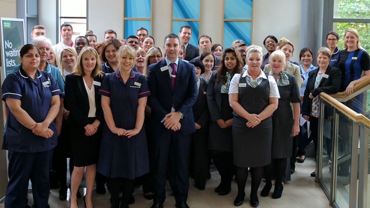 Nuffield Health Leeds Hospital receives 'Outstanding' rating from Care Quality Commission
