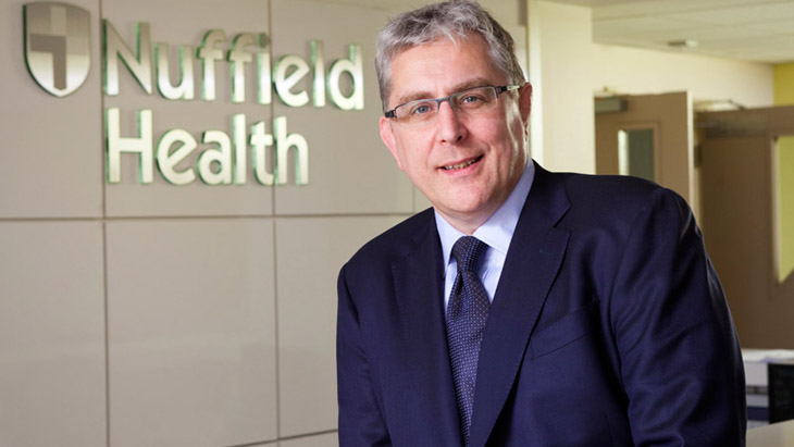David Mobbs steps-down as CEO at Nuffield Health