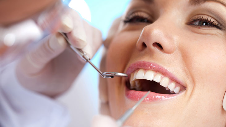 Professional tooth whitening