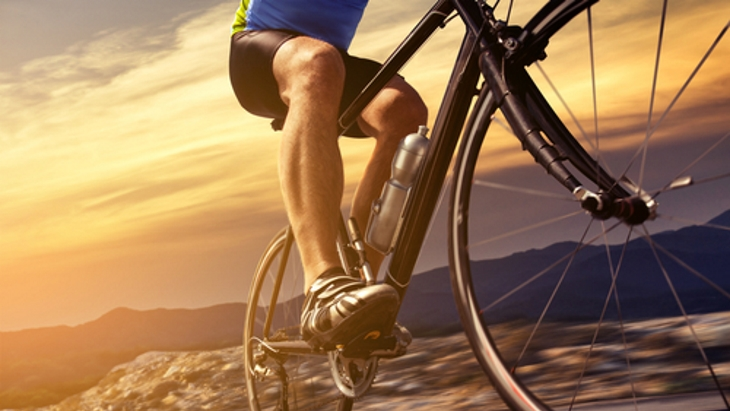 Take care of your knees when cycling