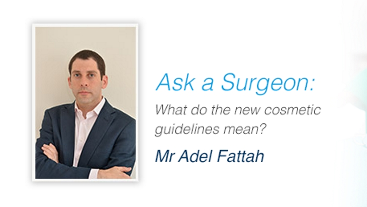 What do the new cosmetic surgery guidelines mean?