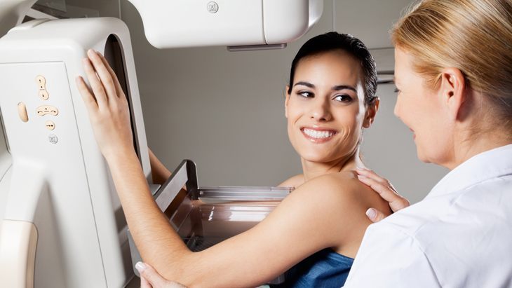 What happens during breast screening?
