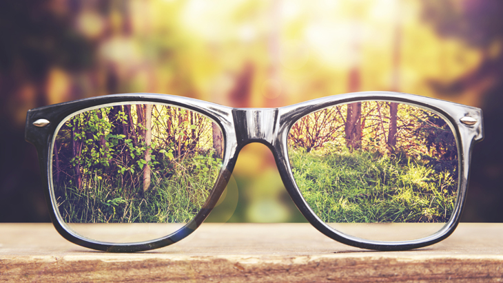 Why wear reading glasses?