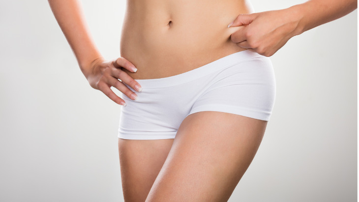 Find out which areas can be targeted by liposuction