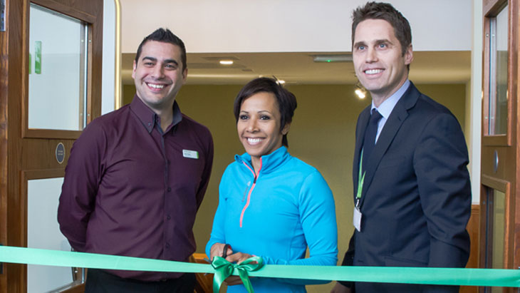 Dame Kelly Holmes launches Nuffield Health Fitness & Wellbeing Centre Tunbridge Wells