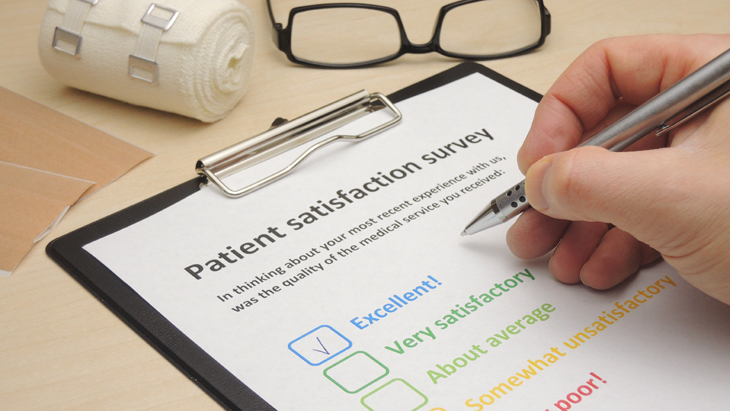 Patients rate their care as very good or excellent  at BMI Three Shires Hospital
