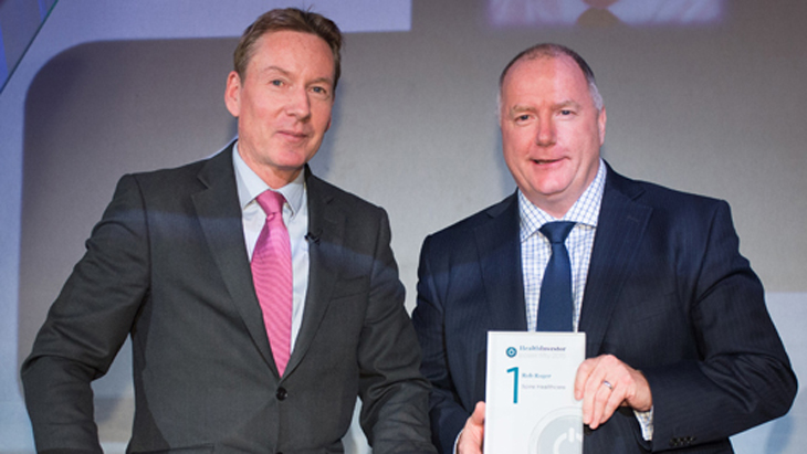 Spire CEO Rob Roger voted 'most influential leader' at HealthInvestor Power 50